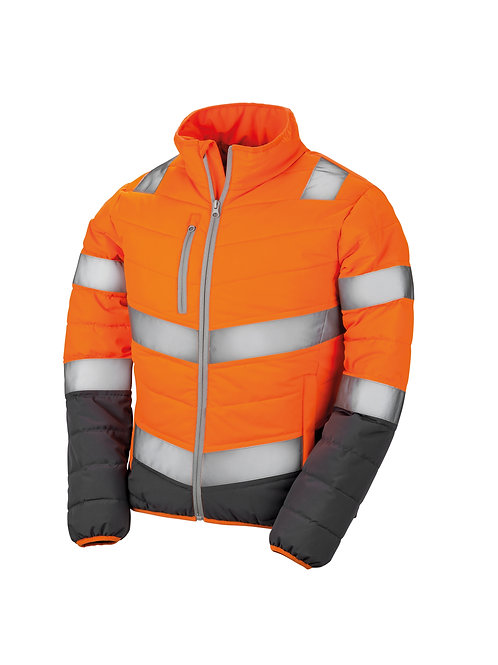 R325F Result Women's soft padded safety jacket