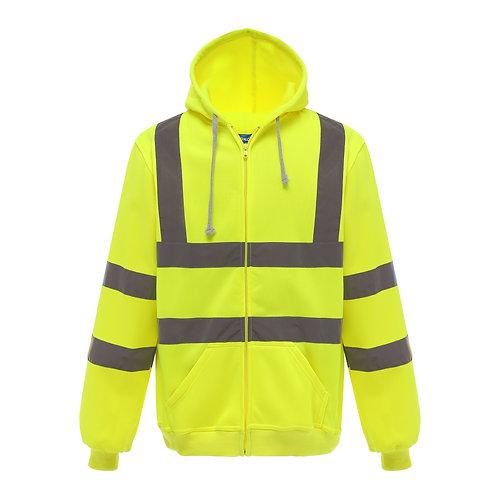 YK012 YOKO Hi-vis zip hoodie (HVK07)
