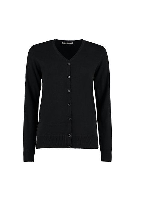 KK354 Kustom Kit Women's Arundel v-neck cardigan long sleeve