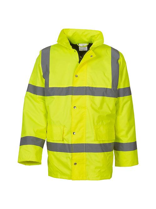 YK045 YOKO Hi-vis classic motorway jacket (HVP300)