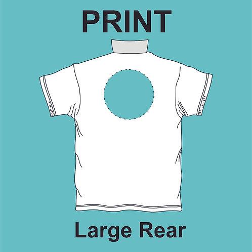 Large Rear Print