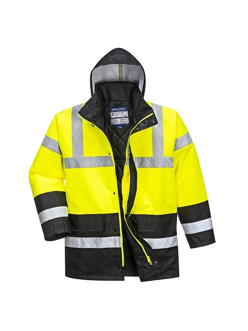 PW022 Portwest Hi-vis traffic jacket (S466/S467)