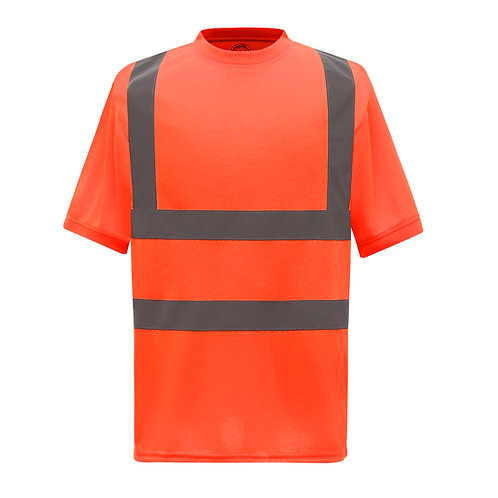 YK025 YOKO Hi-vis short sleeve t-shirt (HVJ410)