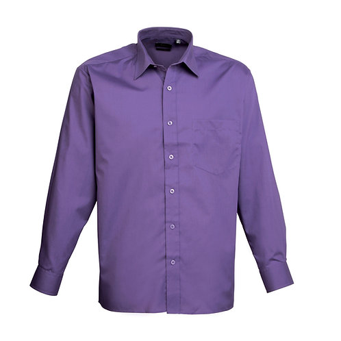 PR200 Premier Long sleeve poplin shirt