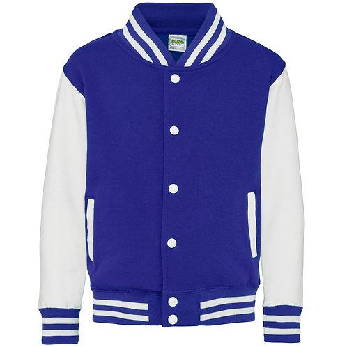 JH43J AWDis Kids varsity jacket
