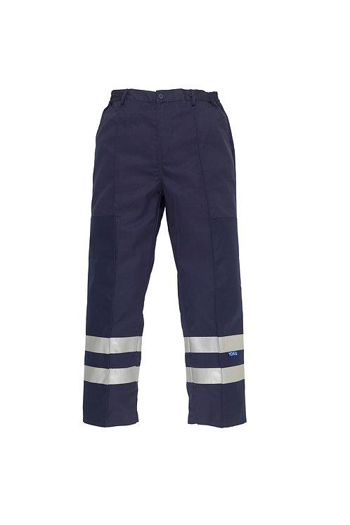 YK074 YOKO Reflective polycotton ballistic trousers (BS015T)
