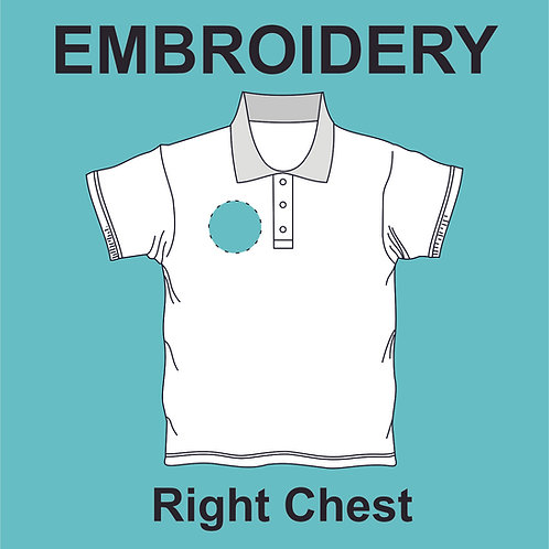 Right Chest Embroidery