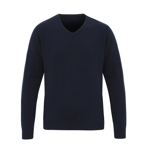 PR400 Premier 'Essential' acrylic v-neck sweater