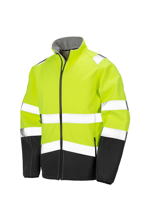 R450X Result Printable safety softshell jacket