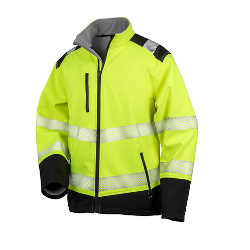 R476X Result Printable ripstop safety softshell