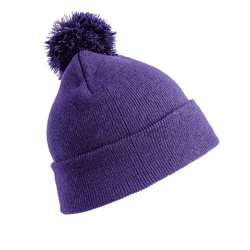 RC28J Result Junior pom pom beanie