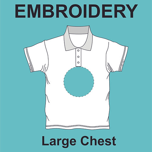 Large Chest Embroidery