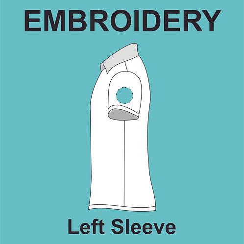 Left Sleeve Embroidery