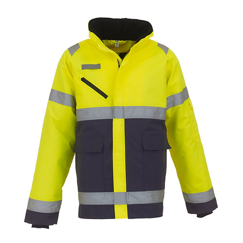 YK029 YOKO Hi-vis Fontaine storm jacket (HVP309)