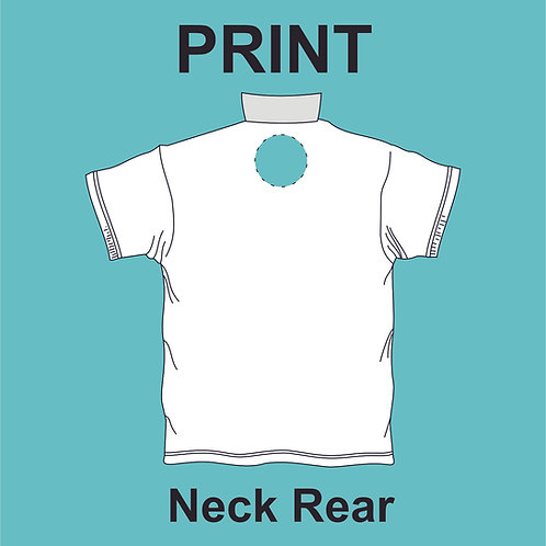 Neck Rear Print