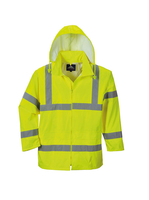 PW011 Portwest Hi-vis rain jacket (H440)