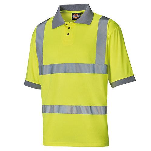 WD043 Dickies Hi-vis polo shirt (SA22075)
