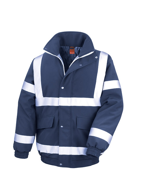 R333X Result Safety padded softshell blouson