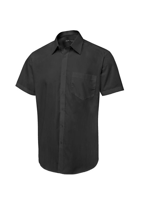 UC714 Uneek Men's Tailored Fit Short Sleeve Poplin Shirt