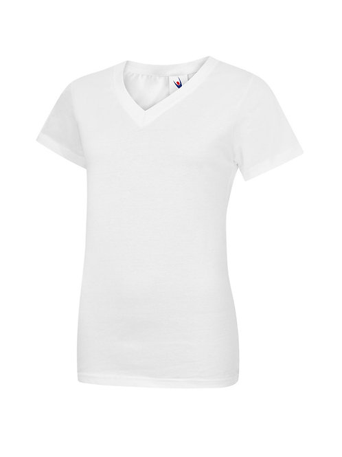 UC319 Uneek Ladies Classic V Neck T Shirt