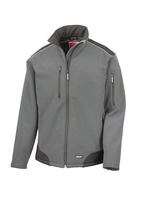 R124A Result Ripstop softshell workwear jacket