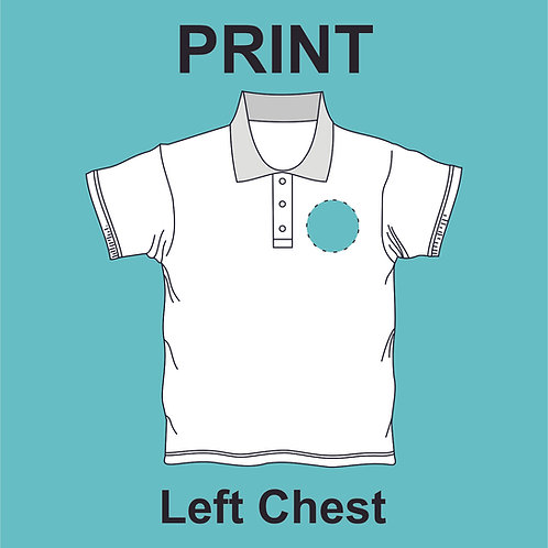 Left Chest Print