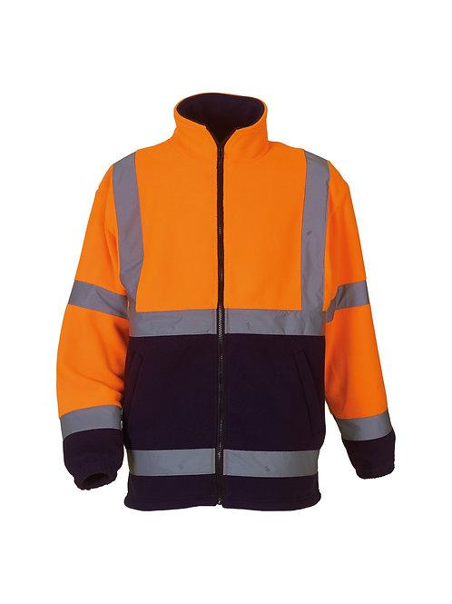 YK042 YOKO Hi-vis heavyweight fleece jacket (HVK08)