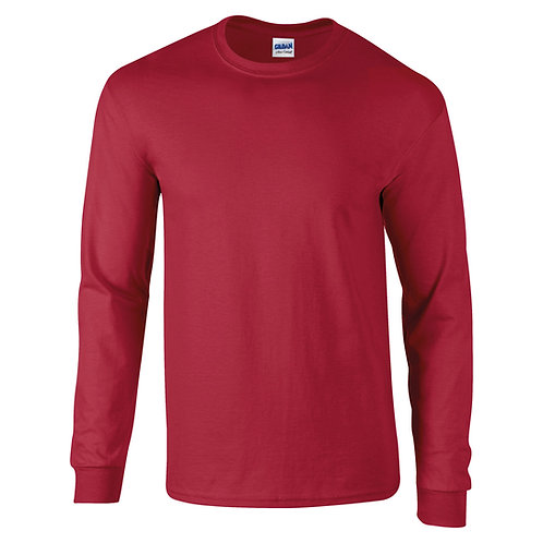 GD014 Gildan Ultra Cotton™ adult long sleeve t-shirt