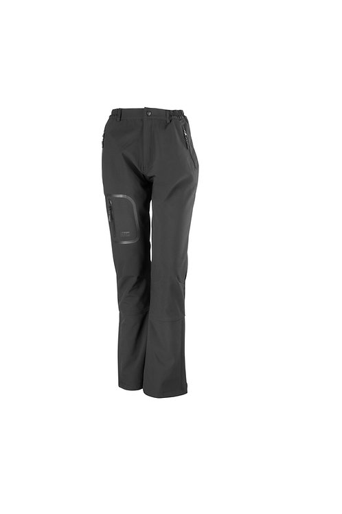 R132F Result Women's tech performance softshell trousers