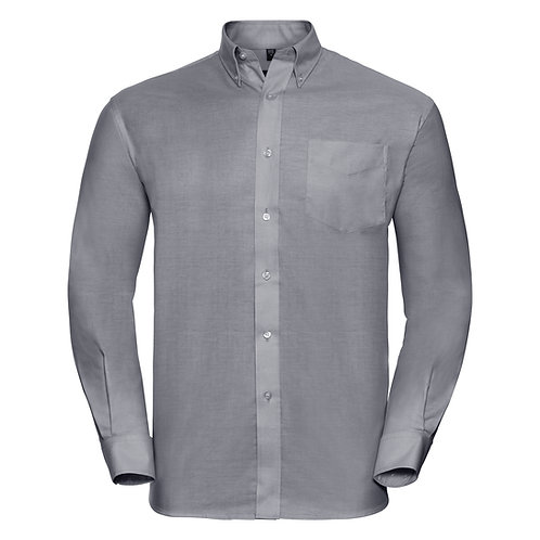 J932M Russell Long sleeve easycare Oxford shirt
