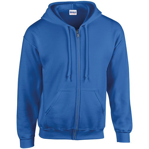 GD058 Gildan Heavy Blend™ full zip hooded sweatshirt