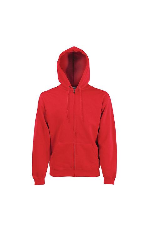 SS822 FOTL Premium 70/30 hooded sweatshirt jacket