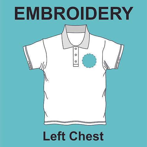 Left Chest Embroidery
