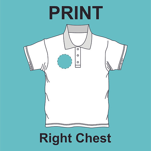 Right Chest Print