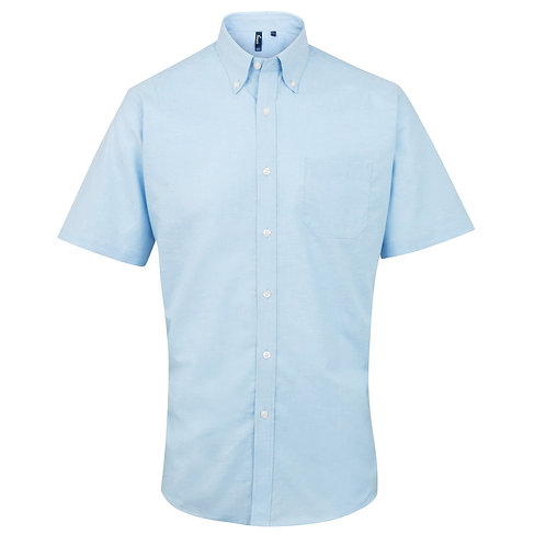 PR236 Premier Signature Oxford short sleeve shirt