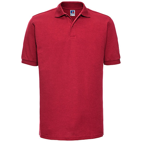 J599M Russell Hard-wearing 60°C wash polo