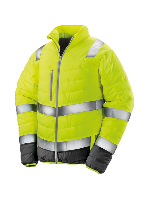 R325M Result Soft padded safety jacket