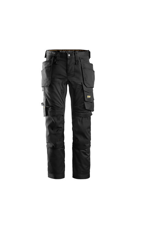 SI077 Snickers AllroundWork stretch trousers holster pockets