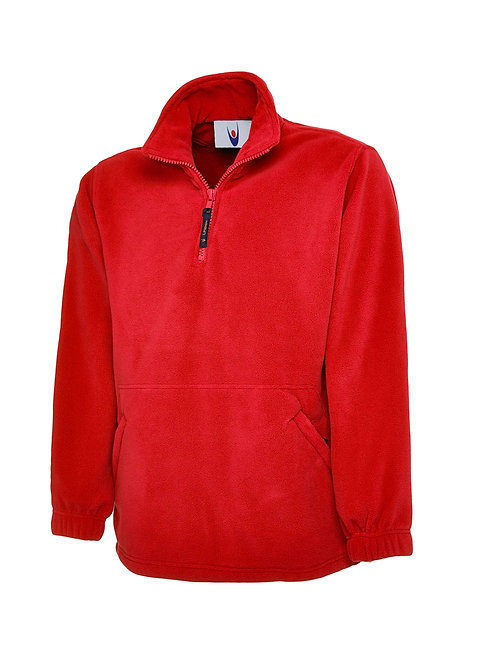 UC602 Uneek Premium 1/4 Zip Micro Fleece Jacket