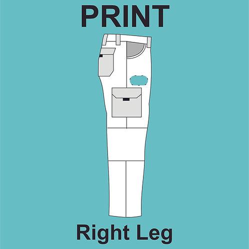 Right Leg Print