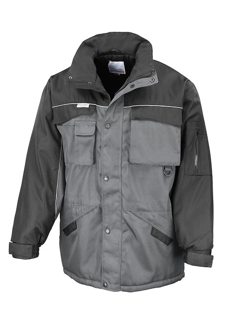RE72A Result Work-Guard heavy-duty combo coat