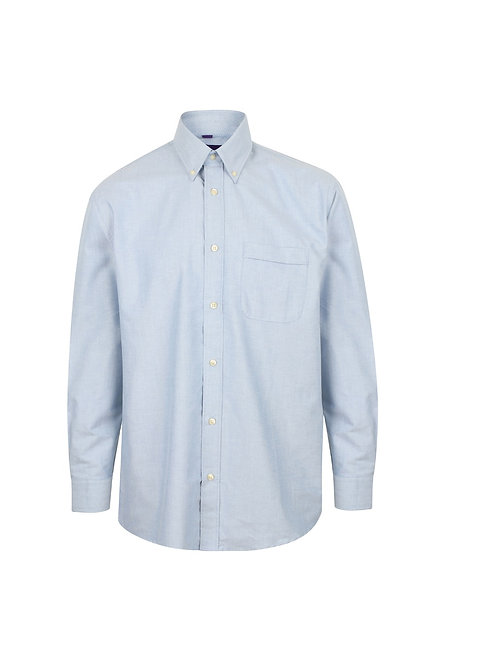 HB510 Henbury Long sleeve classic Oxford shirt