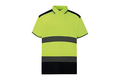 YK104 YOKO Hi-vis two-tone polo shirt (HVJ220)