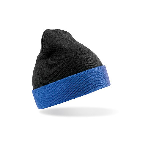 RC930 Result Recycled black compass beanie