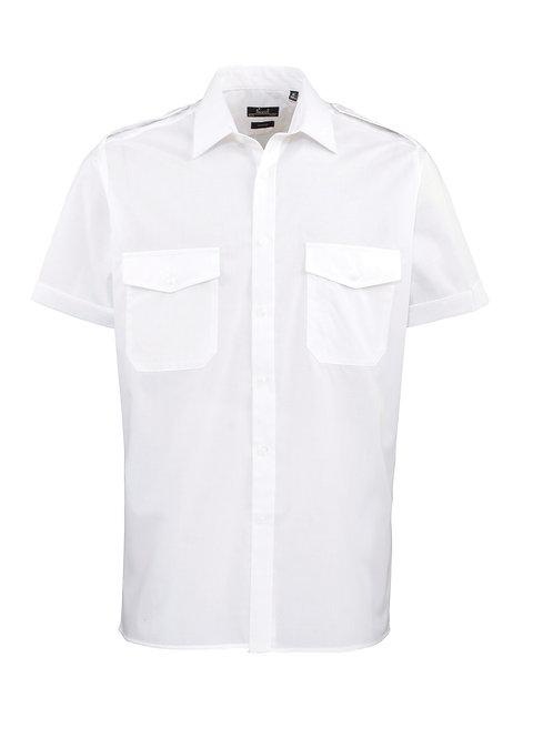 PR212 Premier Short sleeve pilot shirt
