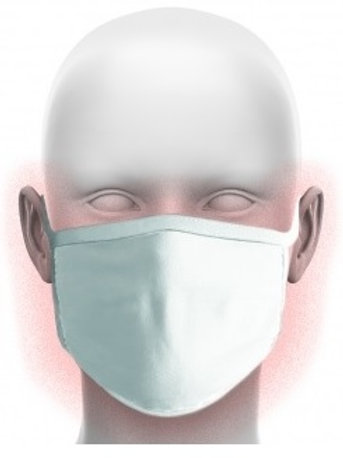 FM001 FACE MASK - Re-Useable with Anti-bacterial treatment