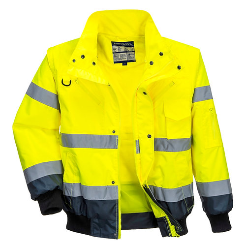 PW013 Portwest 3-in-1 bomber jacket (C465)