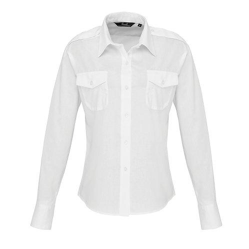 PR310 Premier Women's long sleeve pilot shirt