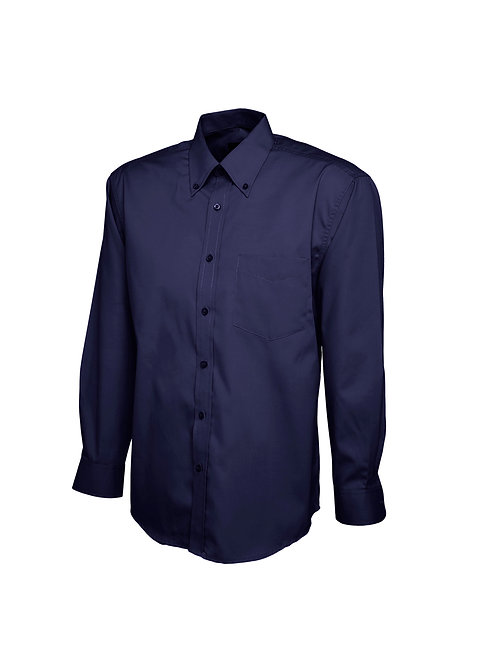 UC701 Uneek Mens Pinpoint Oxford Full Sleeve Shirt