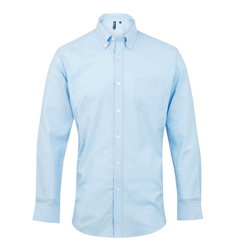 PR234 Premier Signature Oxford long sleeve shirt